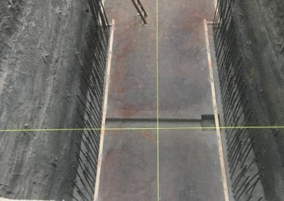 AME Concrete slab installation