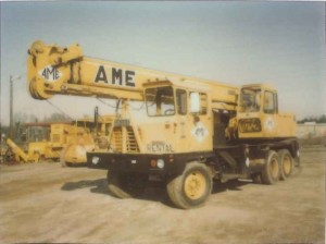 Crane Rental Business is taking off and AME begins buying more cranes.