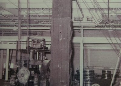 """75 ton Rolling Lift – Fabricated by AME affectionately called """"The Dinosaur."""""""
