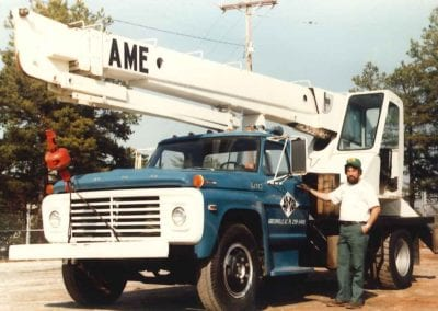 10 ton crane working overtime as Crane Business continues to grow.